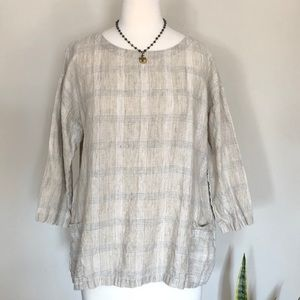 EILEEN FISHER Linen Tunic